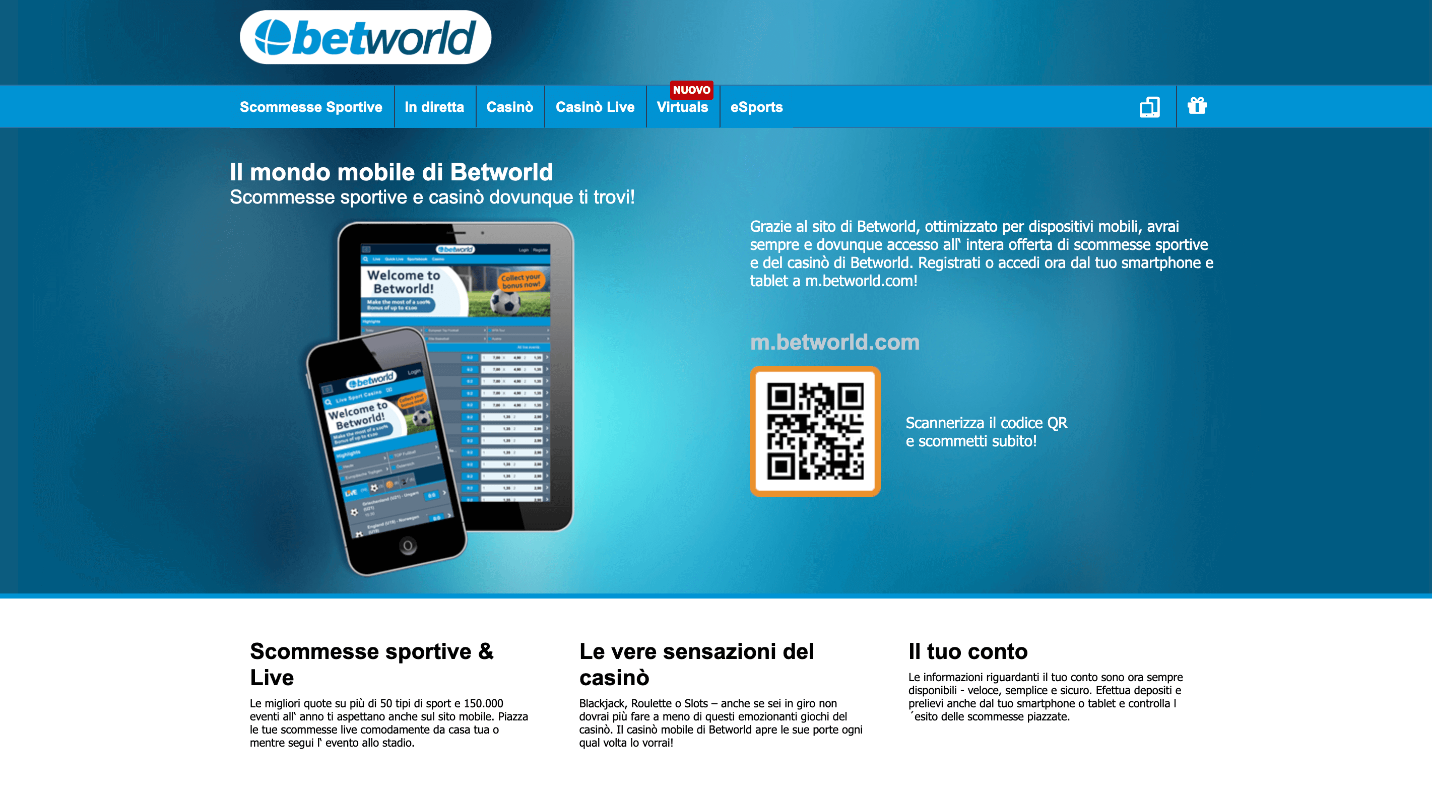 betworld Download App Mobile